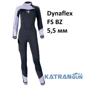 Гидрокостюм мужской для дайвинга AquaLung DynaFlex 5.5 мм