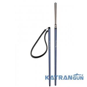 Гавайка для підводного полювання Salvimar Pole Spear 106 см з 3-зубою насадкою Paralyzer M6