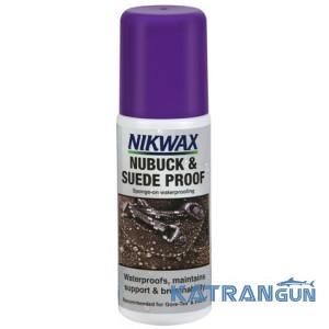 Пропитка для обуви из нубука Nikwax Nubuck & Suede Proof