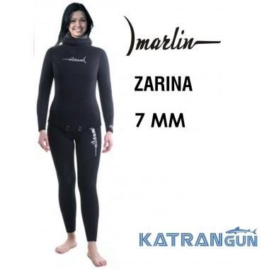 Гидрокостюм для подводной охоты женский Marlin Zarina 7 мм