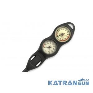 Консоль для дайвінгу Subgear analog 2 (манометр + глибиномір)