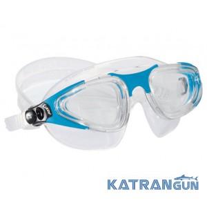 Окуляри-маска для плавання Cressi Sub Hydra; блакитні