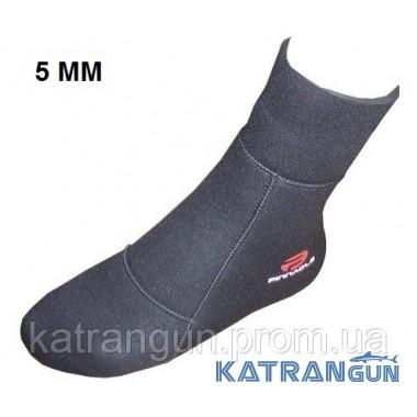 Шкарпетки для підводного полювання Pinnacle Spearfishing 5 мм