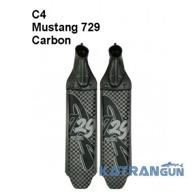 Карбоновые ласты для фридайвинга C4 Mustang 729