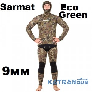 Гидрокостюм Marlin Sarmat Eco Green 9 мм