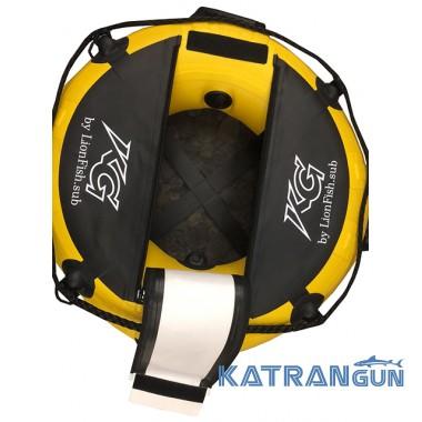 Буй таблетка для фридайвинга Katrangun freedive Mini