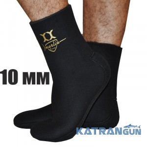 Подводные носки Marlin Yamamoto Anatomic Duratex, 10 мм