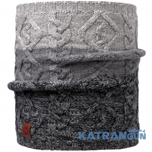 Бафф із вовни мериносів Buff Knitted Neckwarmer Comfort Nuba graphite