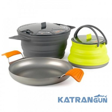 Набор посуды Sea To Summit XSet 32 - 8 Pan+ 2.8L Pot + 1.3 Ket