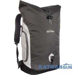 Рюкзак для міста Tatonka Rolltop Pack Titan Grey