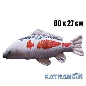 Подушка-іграшка Короп-Кої; чорно-червоний (60х27 см)