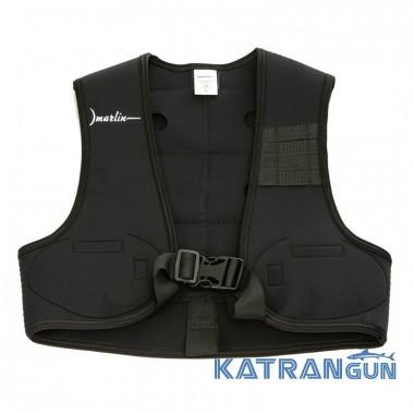 Розвантажувальний жилет для підводного полювання Marlin Vest Black