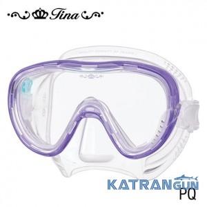 Низькопрофільна маска для підводного плавання Tusa Tina