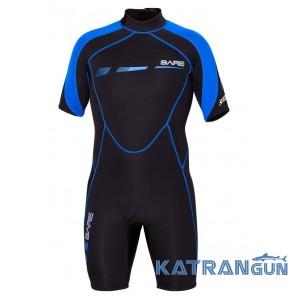 Укороченный гидрокостюм Bare Sport S-Flex Shorty 2 мм