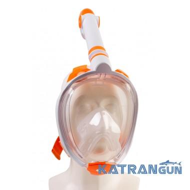 Детская маска на всё лицо для плавания Scorpena Junior