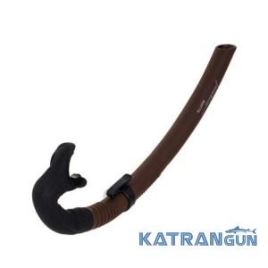 Трубка подводной охоты Marlin Matte, коричневая