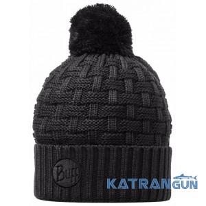 Шапка зимняя утепленная Buff Knitted & Polar Hat Airon black