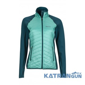 Ультратеплая куртка Marmot Wm's Variant Jacket, Deep Teal/Waterfall