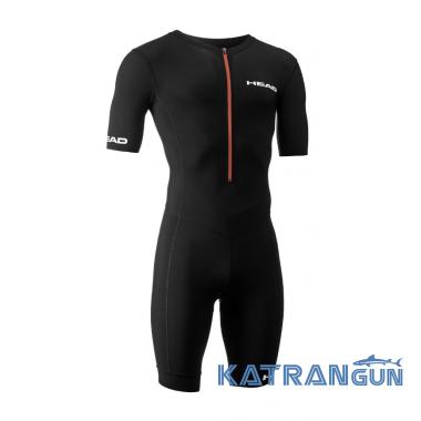 HEAD SWIMMING Стартовый костюм для триатлона Unisex черный
