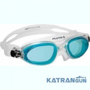 Маска для плавания в бассейне Salvimar Fluyd Linea, голубые