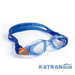 Дитячі плавальні окуляри Aqua Sphere Moby Kid clear lens / blue, orange