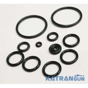 Уплотнительные кольца под зелинки Zelinka Pro 9 (ресивер 30 мм)