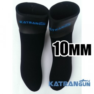 Носки для ласт KatranGun Hunter Anatomic WaterLock 10мм
