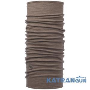 Багатофункціональна бандана Buff 3/4 Lightweight Merino Wool walnut brown