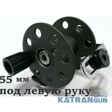 Катушка подводного ружья Pelengas 55 мм; металлическая; под Pelengas; под левую руку