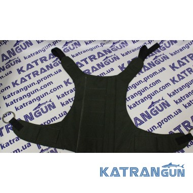 Жилет разгрузочный для подводной охоты Kalkan Black
