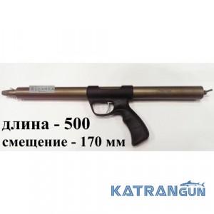 Алюмінієва Зелінка Zelinka Techno 500 мм; зі зміщенням 170 мм; без регулятора