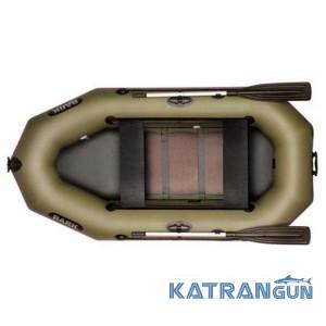 Надувная лодка из пвх Bark B-240CD, сдвижные сидения