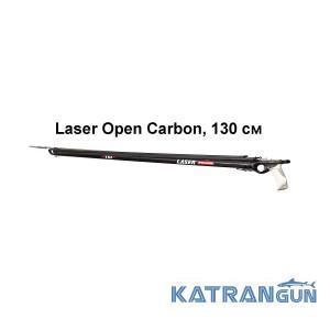 Ружьё карбоновое для подводной охоты Pathos Laser Open Carbon, 130 см