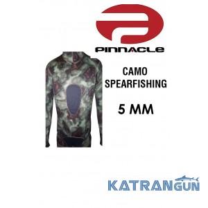 Гидрокостюм подводной охоты Pinnacle Camo Spearfishing 5 мм