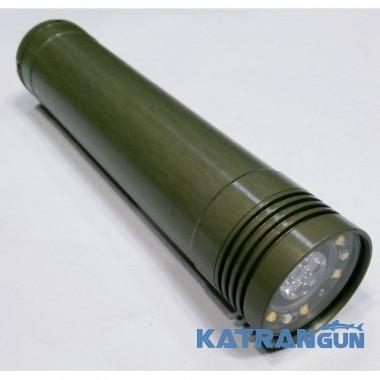 Потужний ліхтар для підводного полювання Дніпро 8 (без акумуляторів і зарядки)