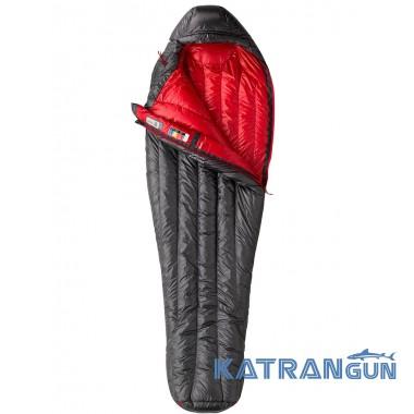 Пуховый спальный мешок Marmot Plasma 40, Black/Team Red