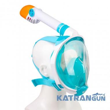 Маска для ребенка полнолицевая Scorpena Swim; малая