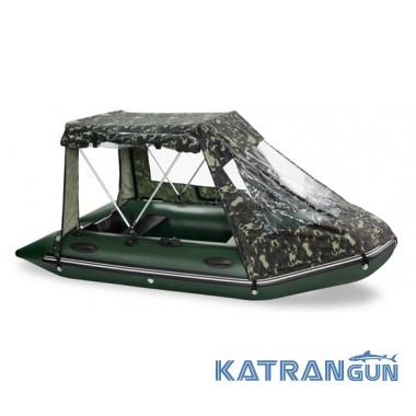 Палатка на лодку пвх Bark, модель 290-310
