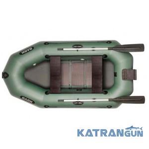 Човен з навісним транцем Bark B-250ND, зсувні сидіння