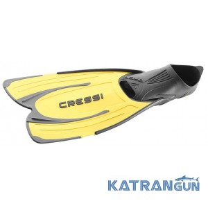 Короткі ласти Cressi Sub Agua, жовті