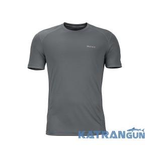Практичная мужская футболка Marmot Windridge SS, Cinder