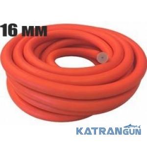 Тяги в бухтах Prime Line; диаметр 16 мм; прозрачная в оранжевой оболочке