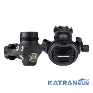 Регулятор Apeks Tungsten DIN + 5й порт (с поворотным шлангом)