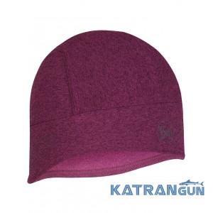 Яркая ветрозащитная шапка Buff Tech Fleece Hat R-pink
