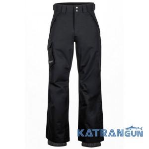 Водонепроницаемые горнолыжные штаны Marmot Motion Cord Pant, black