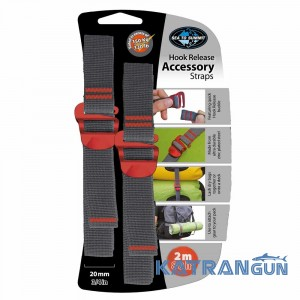 Ремень стяжной Sea To Summit Accessory Strap With Hook Buckle 20мм (2м)