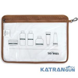 Прозора косметичка Tatonka Zip Flight Bag A4 Transparent