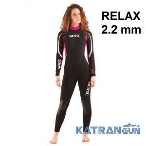 Зручний жіночий гідрокостюм Seac Sub Relax 2.2 мм