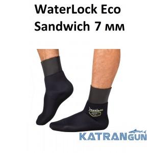 Носки для подводной охоты Marlin WaterLock Eco Sandwich 7 мм