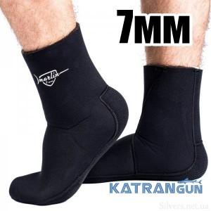 Носки для подводного плавания Marlin Anatomic Duratex 7 мм